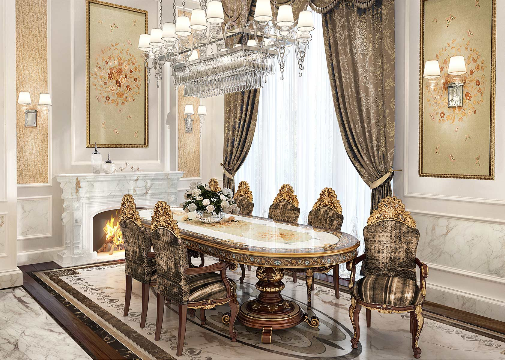 It Room: Caspani Tino Luxury Furniture 100% Made In Italy